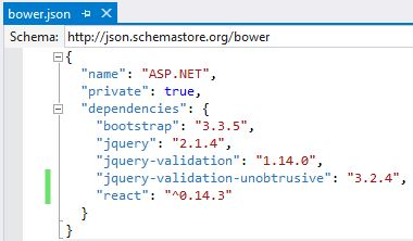 bower.json structure