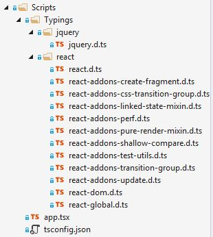 ReactJs with TypeScript in Asp Net VNext - timjames me